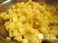 Приготовление зимнего салата: шаг 1