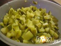 Приготовление зимнего салата: шаг 2