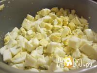 Приготовление зимнего салата: шаг 4