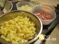 Приготовление зимнего салата: шаг 6
