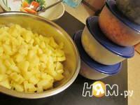 Приготовление зимнего салата: шаг 7