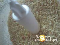 Приготовление миндального печенья с шоколадом: шаг 4