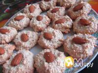 Приготовление миндального печенья с шоколадом: шаг 7
