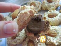 Приготовление миндального печенья с шоколадом: шаг 9