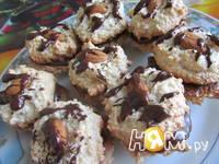 Приготовление миндального печенья с шоколадом: шаг 10