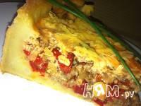 Приготовление картофельно-мяснго пирога с  перцем: шаг 14