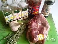 Приготовление свинины запеченной с розмарином: шаг 1