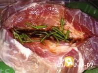 Приготовление свинины запеченной с розмарином: шаг 5