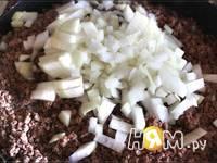 Приготовление блинчиков с мясом и сыром: шаг 1