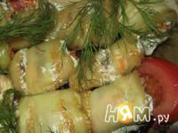 Приготовление закуски из баклажан Тещин язык: шаг 10