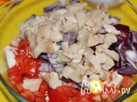 Приготовление фрикасе из курицы: шаг 6
