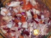 Приготовление фрикасе из курицы: шаг 7