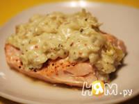 Приготовление лосося под белым соусом: шаг 9
