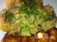 Приготовление соуса из белых грибов: шаг 7