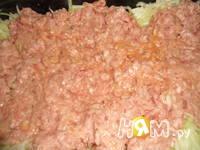 Приготовление ленивой запеканки из кабачка: шаг 3