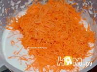 Приготовление морковного торта: шаг 1
