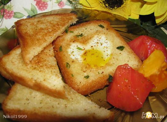 Гренки к завтраку