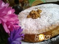 Приготовление орехового пирога: шаг 14