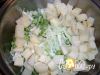 Приготовление супа молочного с овощами: шаг 3