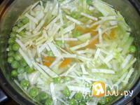 Приготовление супа молочного с овощами: шаг 4