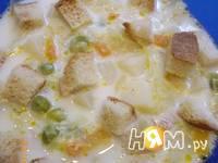 Приготовление супа молочного с овощами: шаг 6