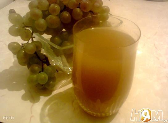 Рецепт Сок виноградный натуральный