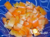 Приготовление салата из баклажан и сладкого перца: шаг 1