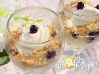 Приготовление творожного десерта с печеньем: шаг 4