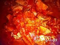 Приготовление спагетти с морепродуктами и яйцом: шаг 9