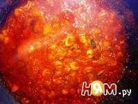 Приготовление спагетти с морепродуктами и яйцом: шаг 13