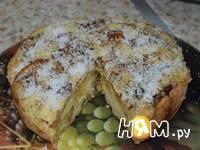 Приготовление шарлотки с яблоками, изюмом и корицей: шаг 5
