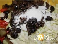 Приготовление салата Беларусь: шаг 6