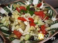 Приготовление салата Беларусь: шаг 7