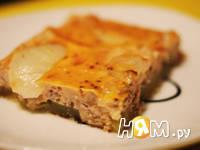 Приготовление кабачков с мясом, запеченных в омлете: шаг 7