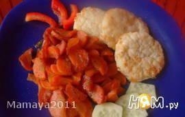 Рыбные тефтельки с морковкой
