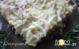 Картофельная запеканка с шампиньонами