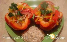 Ореховый соус для овощного салата