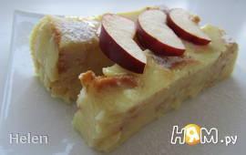 Яблочный пирог без выпечки