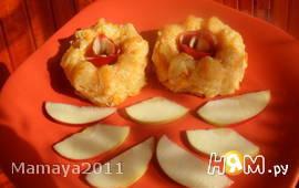 Пудинг из тыквы с яблоком