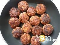 Приготовление мясных тефтелей в соусе: шаг 19