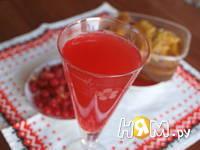 Приготовление напитка из калины с мятой и медом: шаг 7