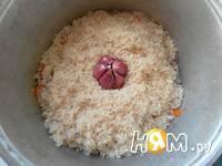 Приготовление плова с курицей: шаг 12
