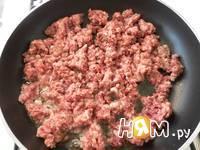Приготовление спагетти с фаршем и овощами: шаг 3