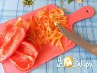 Приготовление спагетти с фаршем и овощами: шаг 7