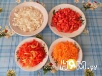 Приготовление спагетти с фаршем и овощами: шаг 10