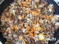 Приготовление спагетти с фаршем и овощами: шаг 12