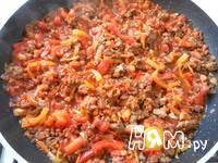 Приготовление спагетти с фаршем и овощами: шаг 15