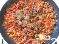 Приготовление спагетти с фаршем и овощами: шаг 16