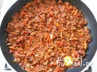 Приготовление спагетти с фаршем и овощами: шаг 17