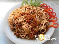 Приготовление спагетти с фаршем и овощами: шаг 23